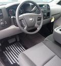 chevrolet silverado 1500 2012 black work truck gasoline 6 cylinders 2 wheel drive 4 speed automatic 76234