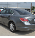 honda accord 2010 dk  gray sedan lx p gasoline 4 cylinders front wheel drive automatic 78233