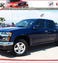 gmc canyon 2012 blue sle 1 gasoline 5 cylinders 2 wheel drive automatic 76018