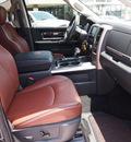 ram ram pickup 1500 2011 black laramie longhorn edition gasoline 8 cylinders 2 wheel drive automatic 76011