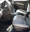 chevrolet cruze 2012 black sedan lt fleet gasoline 4 cylinders front wheel drive shiftable automatic 75080