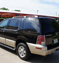 mercury mountaineer 2004 black suv convenience flex fuel 6 cylinders rear wheel drive automatic 76210