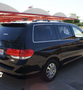 honda odyssey 2009 black van ex l gasoline 6 cylinders front wheel drive 5 speed automatic 76210