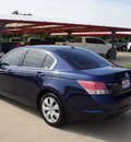 honda accord 2009 blue sedan ex l gasoline 4 cylinders front wheel drive automatic 76210