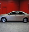 toyota camry 2008 tan sedan xle v6 gasoline 6 cylinders front wheel drive automatic 76116