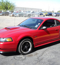ford mustang 2000 red coupe gt gasoline v8 rear wheel drive standard 79925