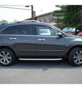 acura mdx 2010 dk  gray suv w advance w res gasoline 6 cylinders all whee drive automatic with overdrive 08844