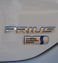toyota prius 2008 white hatchback hybrid 4 cylinders front wheel drive automatic 76087