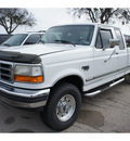 ford f 250 1997 white pickup truck xl diesel v8 4 wheel drive automatic 76691