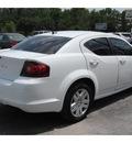 dodge avenger 2012 white sedan se gasoline 4 cylinders front wheel drive automatic 77070