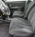 nissan versa 2008 silver hatchback gasoline 4 cylinders front wheel drive automatic with overdrive 76087