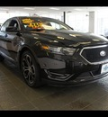 ford taurus 2013 black sedan sho gasoline 6 cylinders all whee drive 6 speed automatic 77338