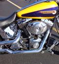 harley davidson fxstdi 2004 yellow softail deuce 2 cylinders 5 speed 45342