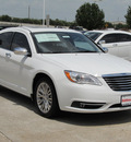 chrysler 200 2012 white sedan limited flex fuel 6 cylinders front wheel drive shiftable automatic 77099