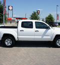 toyota tacoma 2012 white sr5 gasoline 6 cylinders 4 wheel drive automatic 76087