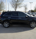 acura mdx 2011 black suv w tech pckg gasoline 6 cylinders all whee drive automatic 76137