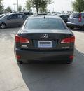 lexus is 250 2009 dk  gray sedan is 250 gasoline 6 cylinders rear wheel drive automatic 76137