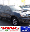 toyota 4runner 2008 gray suv gasoline 6 cylinders 4 wheel drive 5 speed automatic 77388