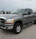 dodge ram pickup 3500 2006 grey slt diesel 6 cylinders 4 wheel drive 6 speed manual 76087