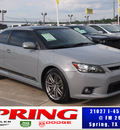 scion tc 2011 gray coupe gasoline 4 cylinders front wheel drive manual 77388