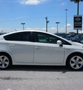 toyota prius 2010 white package 5 hybrid 4 cylinders front wheel drive automatic 76011
