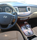 hyundai genesis 2012 white sedan 3 8l v6 gasoline 6 cylinders rear wheel drive automatic 75150