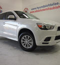mitsubishi outlander sport 2012 white suv es gasoline 4 cylinders front wheel drive automatic 75150