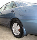 toyota camry 2002 lt  blue sedan le v6 gasoline 6 cylinders front wheel drive automatic with overdrive 77074