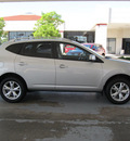 nissan rogue 2009 silver suv sl gasoline 4 cylinders all whee drive shiftable automatic 77477