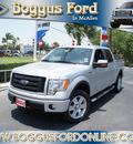 ford f 150 2010 silver fx4 flex fuel 8 cylinders 4 wheel drive automatic 78501