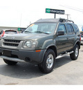 nissan xterra 2004 dk  green suv se gasoline 6 cylinders rear wheel drive automatic with overdrive 77627