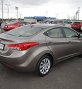 hyundai elantra 2011 bronze sedan gasoline 4 cylinders front wheel drive automatic 76087