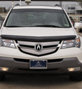 acura mdx 2009 white suv w tech gasoline 6 cylinders all whee drive automatic with overdrive 77074