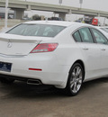 acura tl 2012 white sedan sh awd w advance gasoline 6 cylinders all whee drive automatic with overdrive 77074