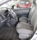 nissan sentra 2011 silver sedan 2 0 s gasoline 4 cylinders front wheel drive cont  variable trans  77477