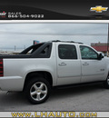chevrolet avalanche 2011 silver suv lt flex fuel 8 cylinders 2 wheel drive automatic 78654