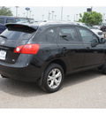 nissan rogue 2009 black suv sl gasoline 4 cylinders front wheel drive automatic 78539