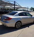 hyundai genesis 2012 lt  gray sedan 5 0l r spec gasoline 8 cylinders rear wheel drive automatic 76049