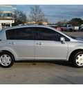 nissan versa 2007 gray hatchback 1 8 s gasoline 4 cylinders front wheel drive 6 speed manual 78130