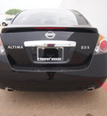 nissan altima 2012 black sedan 2 5 s gasoline 4 cylinders front wheel drive cont  variable trans  75150