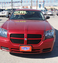 dodge magnum 2007 red wagon se gasoline 6 cylinders rear wheel drive automatic 79936