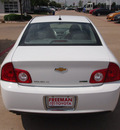 chevrolet malibu 2011 white sedan lt flex fuel 4 cylinders front wheel drive not specified 76053