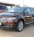 lincoln mkx 2012 dk  red suv gasoline 6 cylinders front wheel drive automatic with overdrive 77074