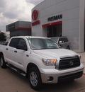 toyota tundra 2012 white grade flex fuel 8 cylinders 4 wheel drive 6 speed automatic 76053