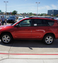 toyota rav4 2012 red suv gasoline 4 cylinders 4 wheel drive 4 speed automatic 76053