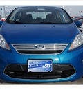 ford fiesta 2012 blue candy tinted c sedan sel gasoline front wheel drive automatic 77521