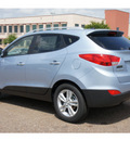 hyundai tucson 2012 lt  blue gls gasoline 4 cylinders front wheel drive automatic 78041