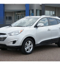 hyundai tucson 2011 silver gls gasoline 4 cylinders front wheel drive automatic 78041