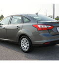 ford focus 2012 gray sedan se flex fuel 4 cylinders front wheel drive automatic 77471