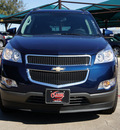 chevrolet traverse 2012 dk  blue lt gasoline 6 cylinders front wheel drive not specified 76051